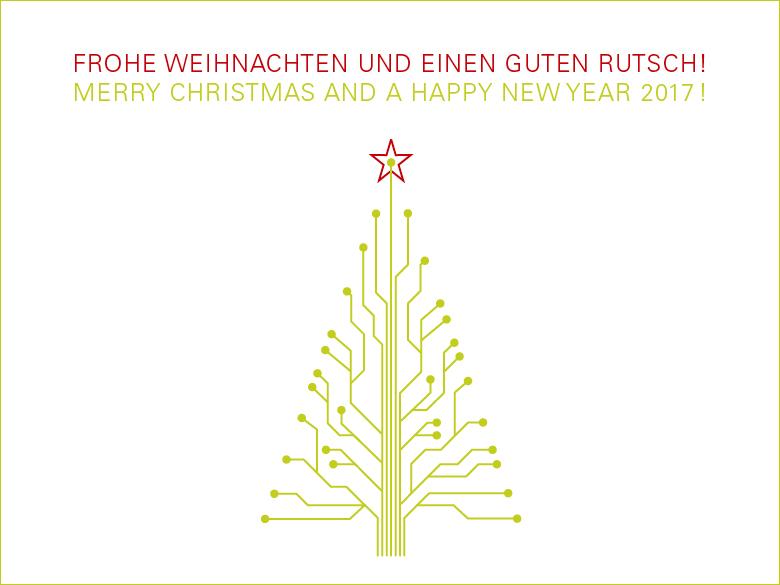 Weihnachts- und Neujahrsgrüße von MAAS+CO