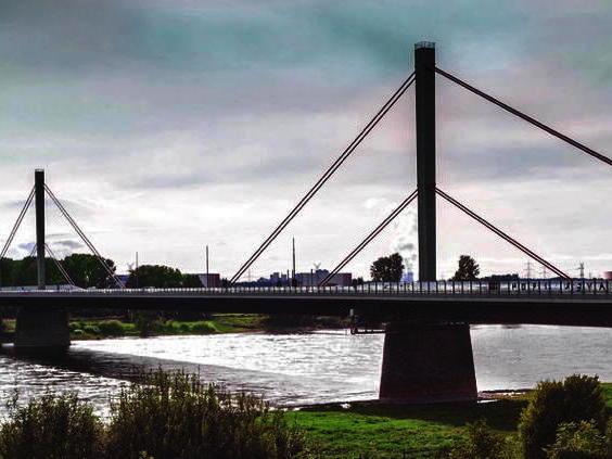 Autobahnbrücke Leverkusen